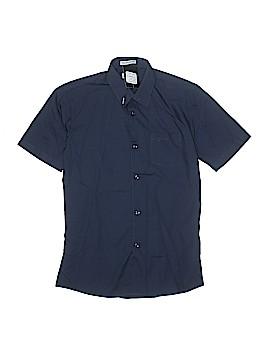 Gioberti Short Sleeve Button-Down Shirt Size 14