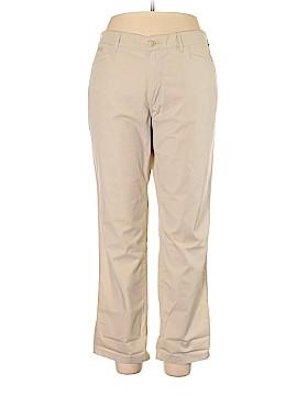 Lauren Jeans Co. Khakis Size 16
