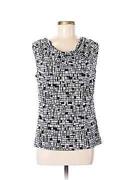 Jones Studio Short Sleeve Blouse Size M