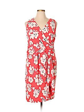 Chaps Casual Dress Size 16 (Plus)