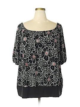 Venezia Short Sleeve Blouse Size 22 (Plus)