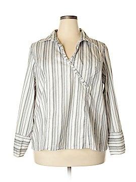Carolina Colours Long Sleeve Blouse Size 22 (Plus)