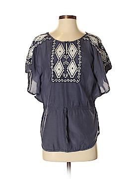 Baraschi Short Sleeve Blouse Size S