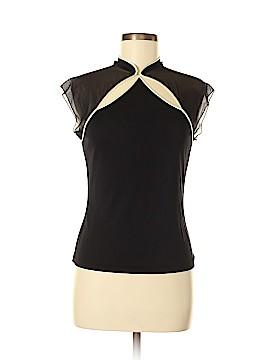 Vivienne Tam Short Sleeve Silk Top Size Med (2)