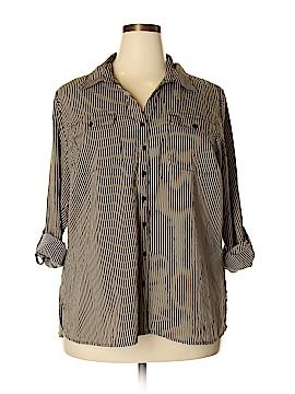 Kim Rogers Long Sleeve Blouse Size 2X (Plus)