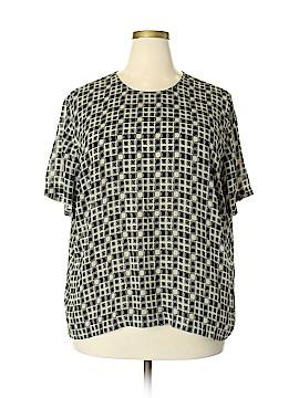 Josephine Chaus Short Sleeve Blouse Size 20 (Plus)