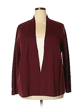 Eileen Fisher Wool Cardigan Size 2X (Plus)