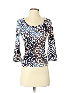 Just Cavalli 3/4 Sleeve Top Size XS