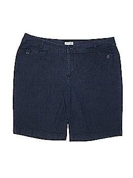 St. John's Bay Denim Shorts Size 20 (Plus)