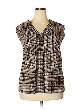 Jones New York Collection Short Sleeve Blouse Size 24 (Plus)