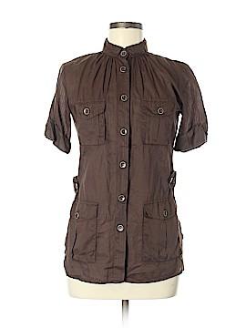 BOSS by HUGO BOSS Short Sleeve Button-Down Shirt Size 6