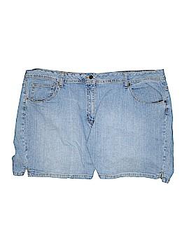St. John's Bay Denim Shorts Size 24 (Plus)