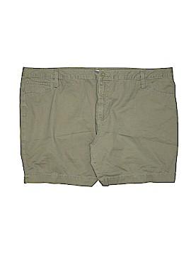 Faded Glory Khaki Shorts Size 22 (Plus)