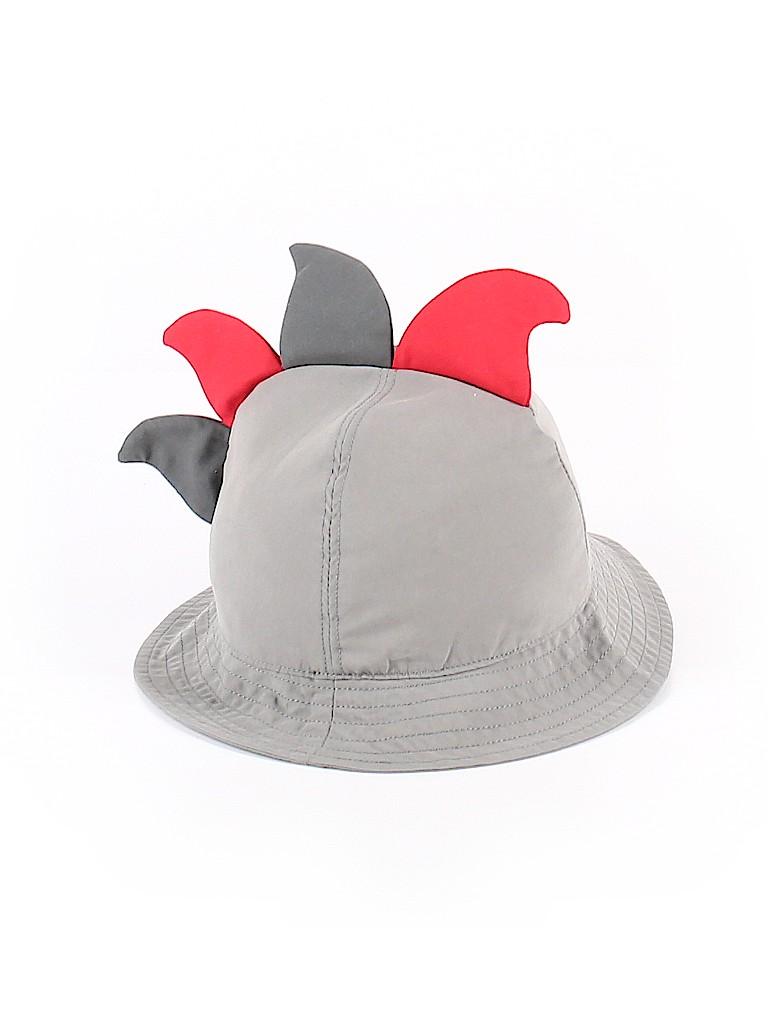 Baby Gap 100% Polyester Color Block Gray Sun Hat Size 6-12 mo - 73 ... e977c9f47de