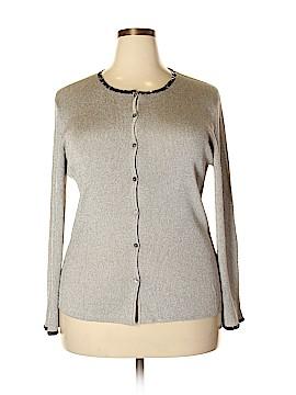 Sigrid Olsen Cardigan Size 1X (Plus)