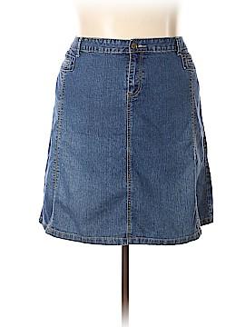 Baccini Denim Skirt Size 22 (Plus)