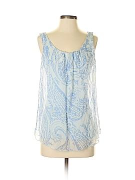 Carla Conti Sleeveless Silk Top Size S