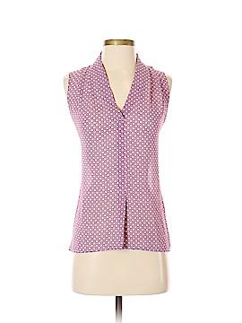 Rose & Olive Sleeveless Blouse Size XS
