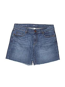Ann Taylor LOFT Denim Shorts Size 2