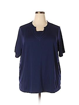 Allison Daley Short Sleeve Blouse Size 3X (Plus)