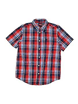 Wrangler Jeans Co Short Sleeve Button-Down Shirt Size 10