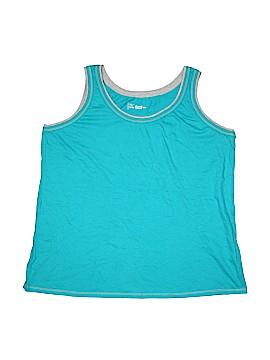 Just My Size Sleeveless T-Shirt Size 2X (Plus)