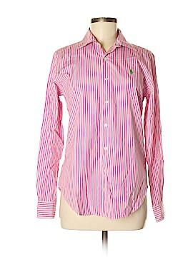 Ralph Lauren Golf Long Sleeve Button-Down Shirt Size 6