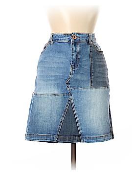 INC International Concepts Denim Skirt Size 12