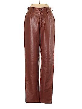 Escada by Margaretha Ley Leather Pants Size 38 (EU)