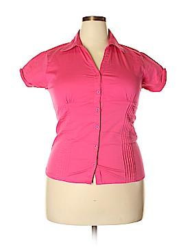 MAX Short Sleeve Button-Down Shirt Size XXL