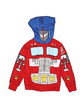 Transformers Zip Up Hoodie Size 4