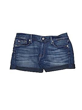 7 For All Mankind Denim Shorts 28 Waist