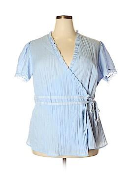 Millenium Short Sleeve Blouse Size 20 (Plus)