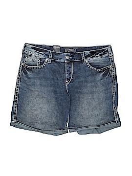 Silver Jeans Co. Denim Shorts Size 20 (Plus)