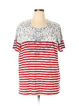 Allison Daley Short Sleeve T-Shirt Size 2X (Plus)