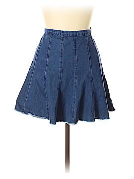 Trafaluc by Zara Denim Skirt Size L