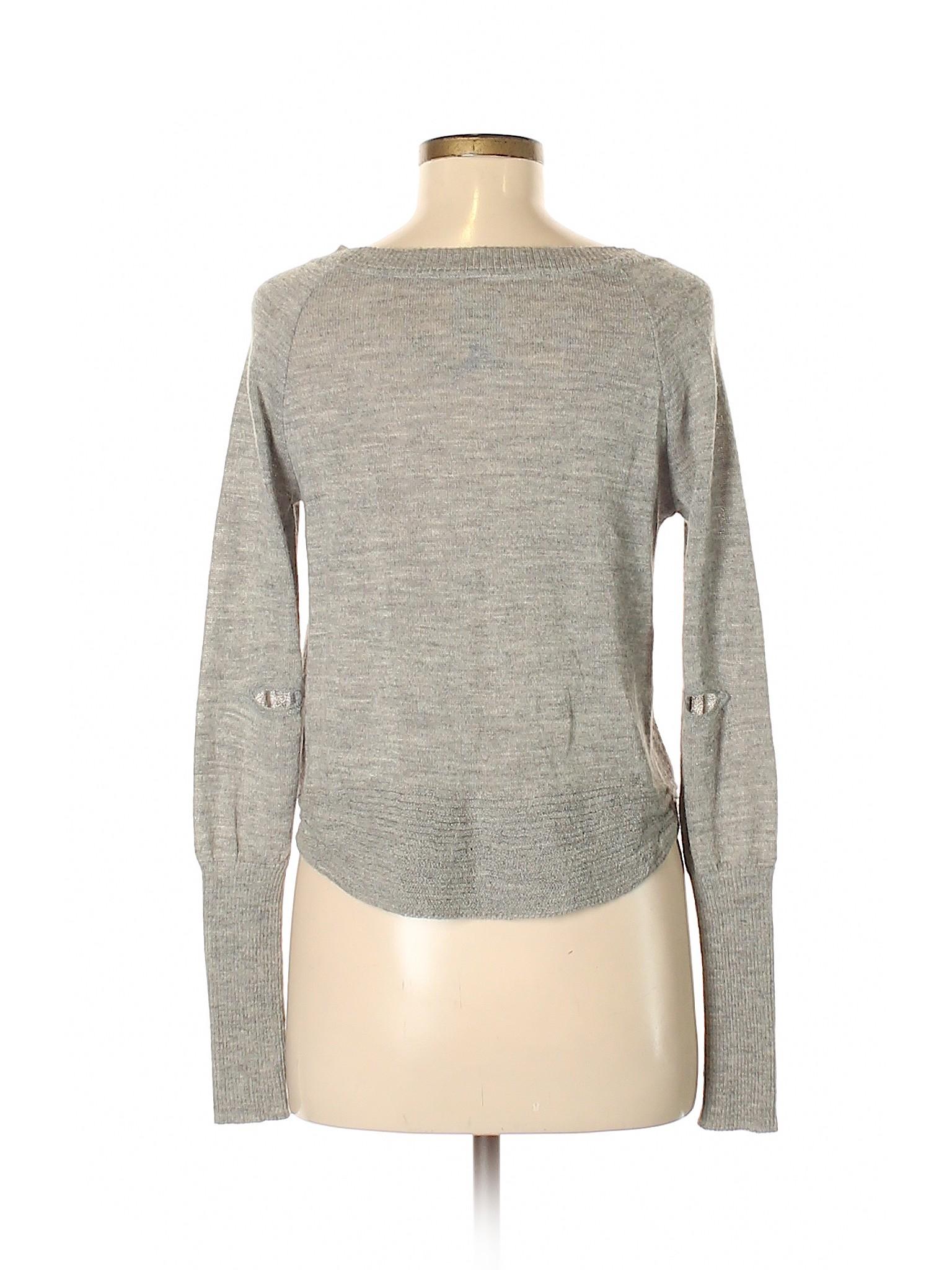 8f3ec709a Dolce Vita 100% Baby Alpaca Solid Gray Pullover Sweater Size M - 80 ...