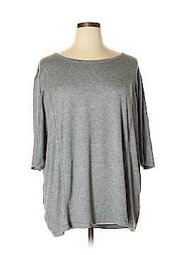 Danskin Now 3/4 Sleeve Top Size 2X (Plus)