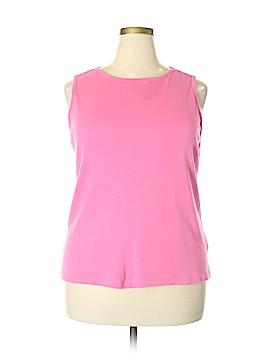 Westbound Sleeveless T-Shirt Size 2X (Plus)