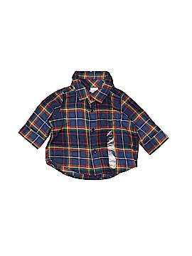 Baby Gap Long Sleeve Button-Down Shirt Size 0-3 mo