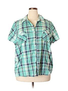 SONOMA life + style Short Sleeve Button-Down Shirt Size 3X (Plus)