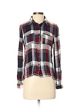 Stoosh Long Sleeve Button-Down Shirt Size XS