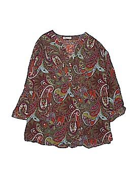 Rebecca Malone 3/4 Sleeve Blouse Size 3X (Plus)