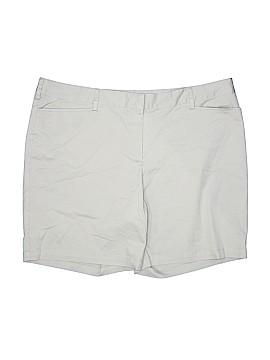 Lands' End Khaki Shorts Size 24 (Plus)