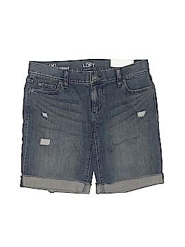 Ann Taylor LOFT Outlet Denim Shorts Size 00