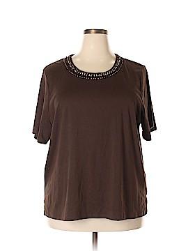 Allison Daley Short Sleeve Top Size 3X (Plus)