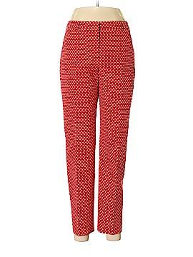 Pink Tartan Khakis Size 6