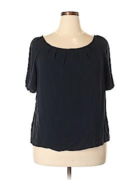 Jessica London Short Sleeve Blouse Size 20 (Plus)