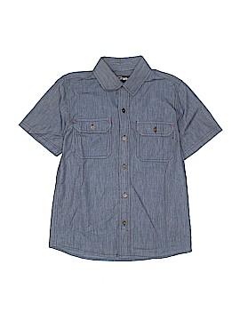 Urban Short Sleeve Button-Down Shirt Size 9
