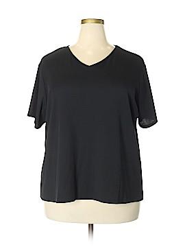 Laura Scott Short Sleeve T-Shirt Size 24 (Plus)